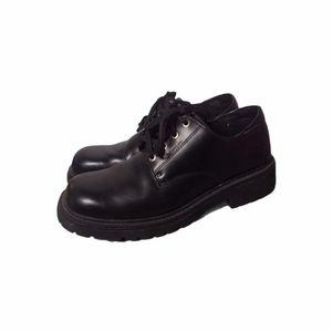 Vintage Bed Stu Chunky Shoes Black Size 13